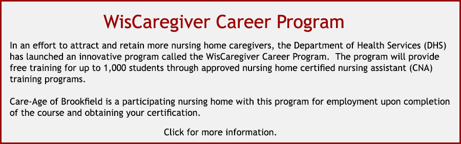 Wisconsin Caregiver Career Program